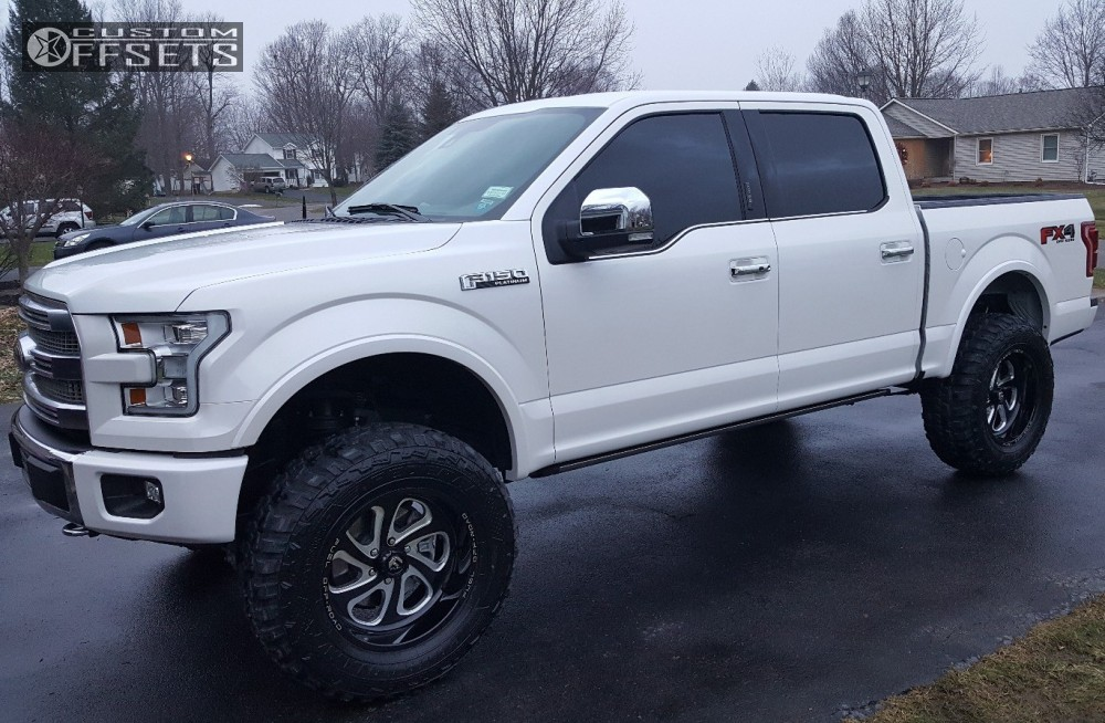 2016 Ford F 150 Fuel Flow Readylift Suspension Lift 7in