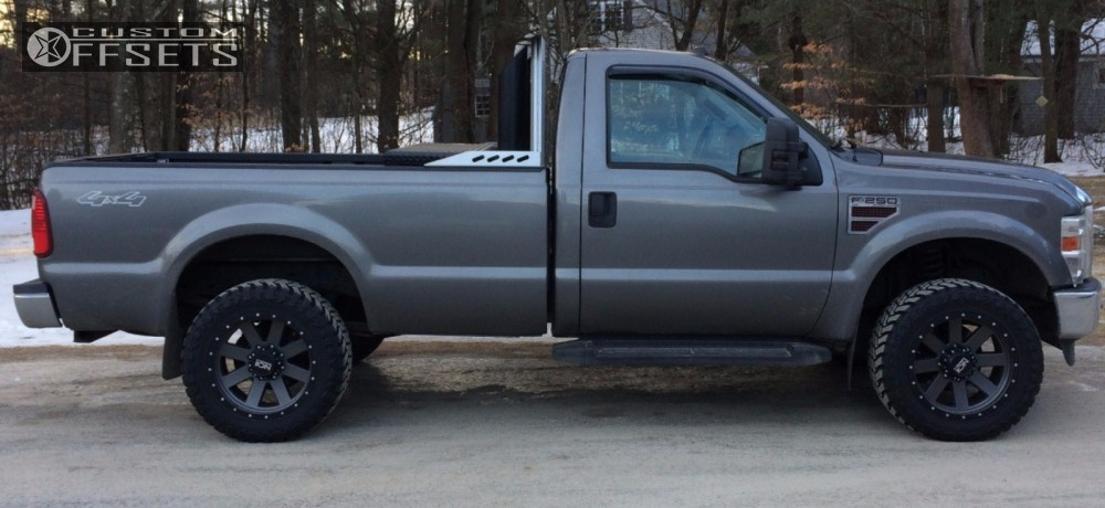 Wheel Offset 2010 Ford F 250 Super Duty Aggressive 1 ...