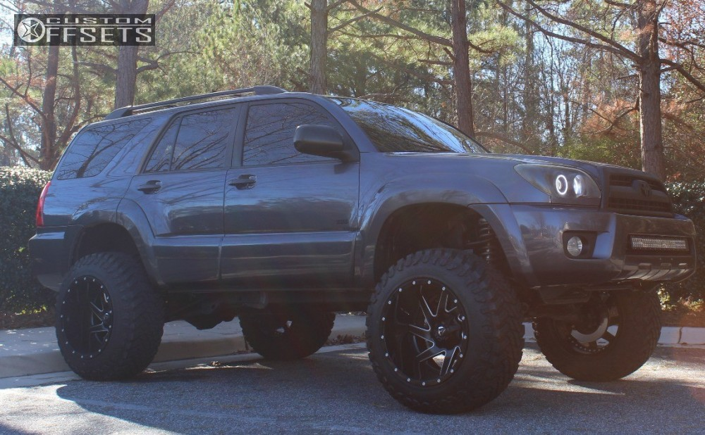 2007 Toyota 4runner Fuel Renegade Toytec Lifts Suspension Lift 7in