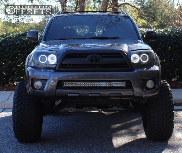 Toyota Runner Fuel Renegade Toytec Lifts Suspension Lift In - 2007 4runner