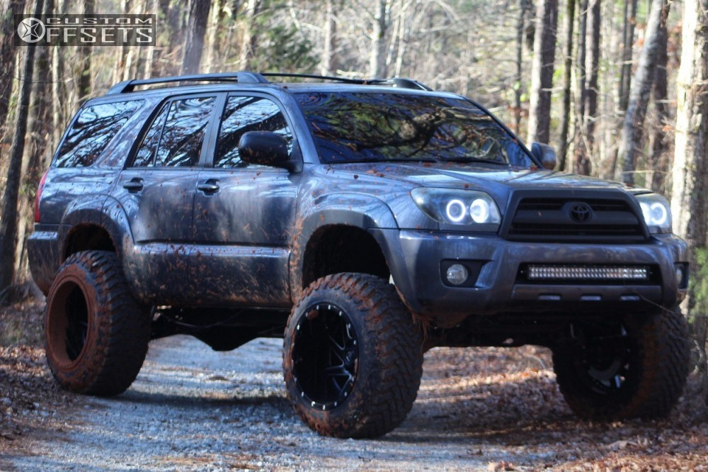 2007 Toyota 4runner Fuel Renegade Toytec Lifts Suspension