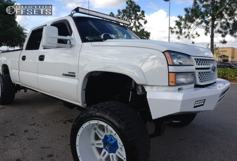1 2007 Silverado 2500 Hd Chevrolet Suspension Lift 6 Fuel Hostages Custom Super Aggressive 3