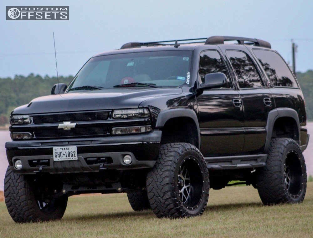1 2004 Tahoe Chevrolet Suspension Lift 6 Body 3 Xd Xd820 Black Super Aggressive 3 5