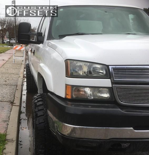 2005 Chevrolet Silverado 2500 Hd Regular Cab Suspension: 2005 Chevrolet Silverado 2500 Hd Moto Metal Mo972 Stock
