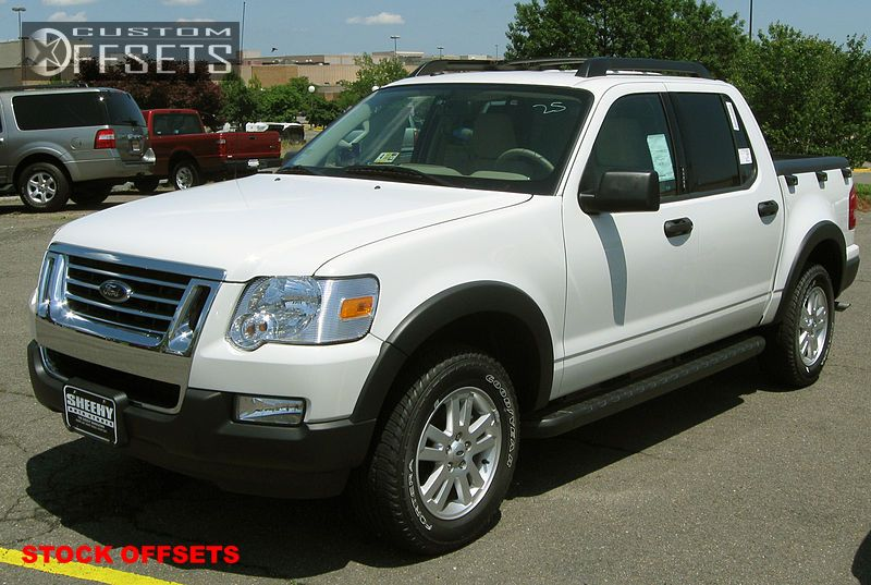 1 2007 Explorer Sport Trac Ford Stock Stock Stock Silver Tucked