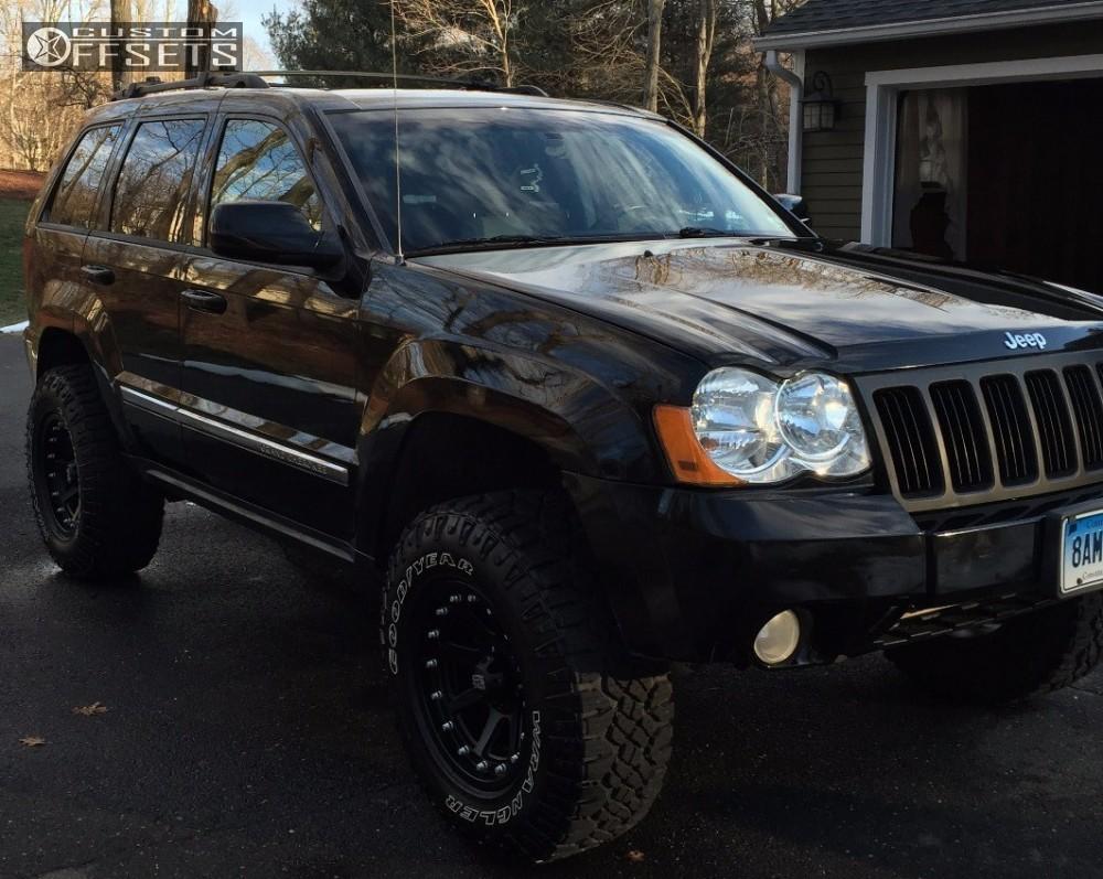 2008 jeep grand cherokee xd addict jba suspension lift 35in