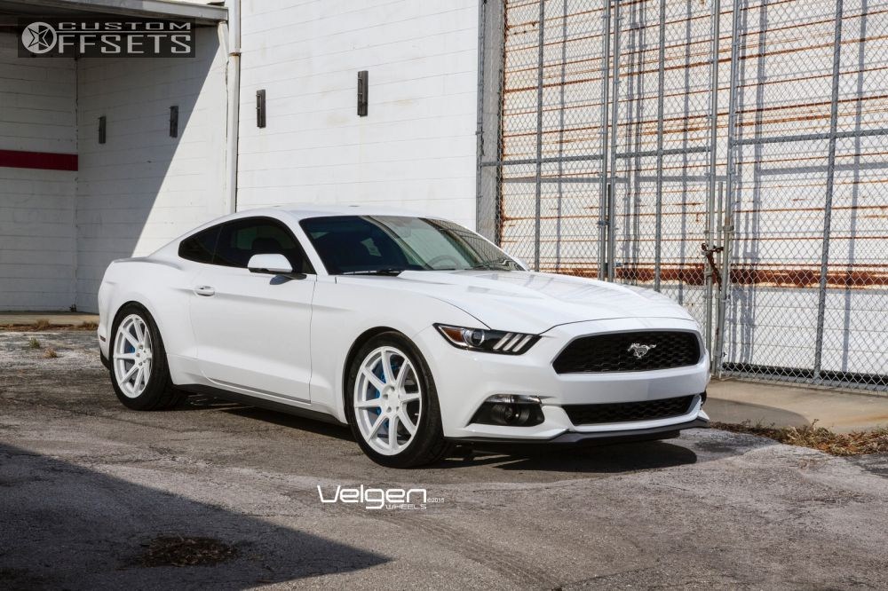 2015 Mustang Custom Wheels >> Wheel Offset 2015 Ford Mustang Flush Stock Custom Offsets