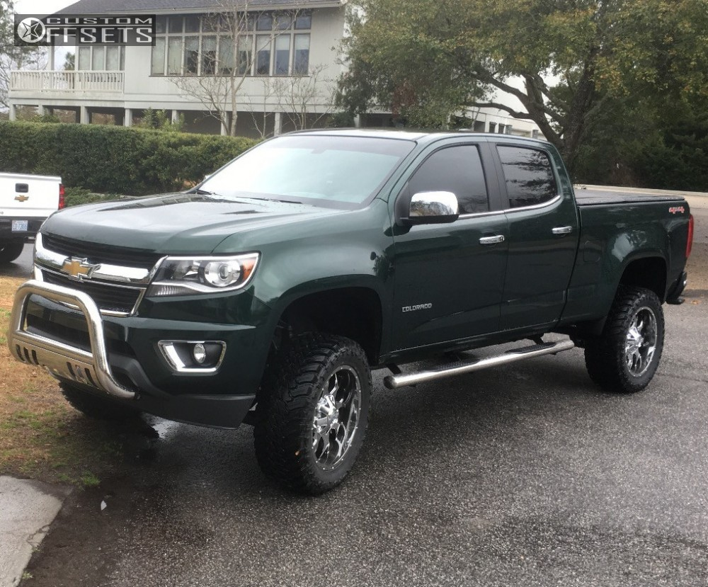 2016 chevrolet colorado mayhem warrior rough country suspension lift 6in. Black Bedroom Furniture Sets. Home Design Ideas
