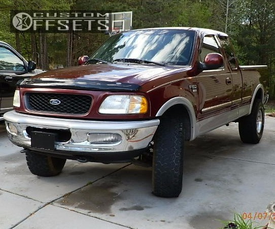 Ford Ranger All Terrain Tires: 1998 Ford F 150 American Eagle 58 Stock Body Lift 3in