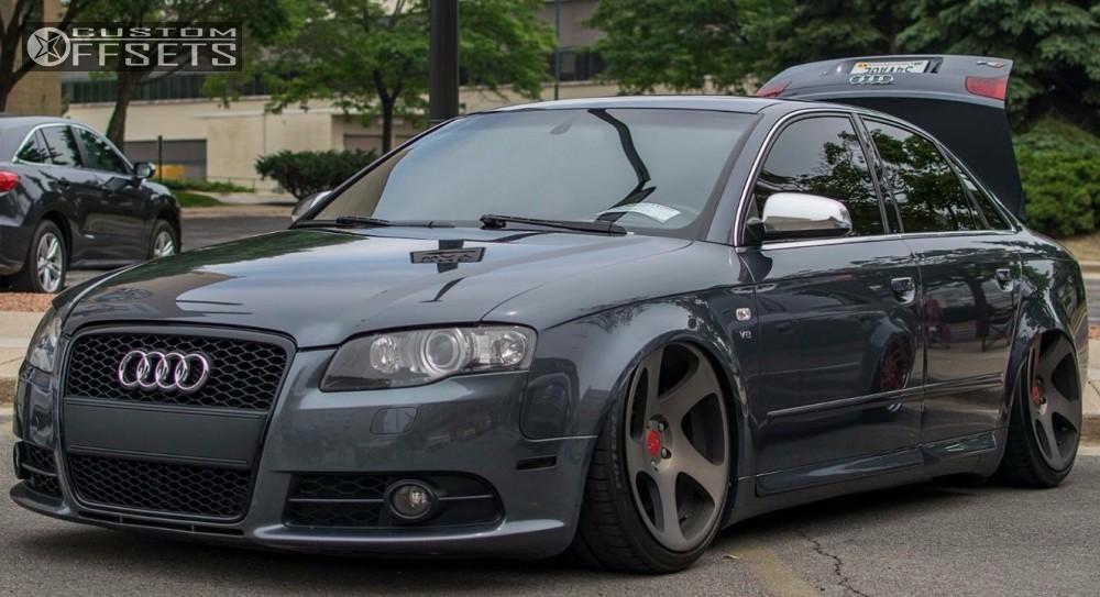 Audi S Rotiform Tmb Accuair Air Suspension - 2006 audi s4