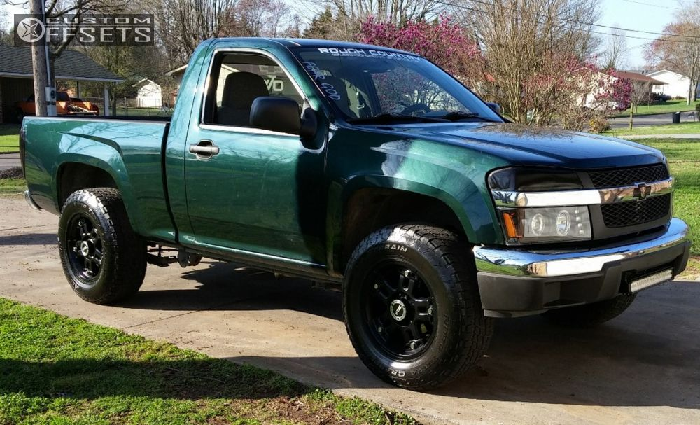 Wheel Offset 2005 Chevrolet Colorado Aggressive 1 Outside