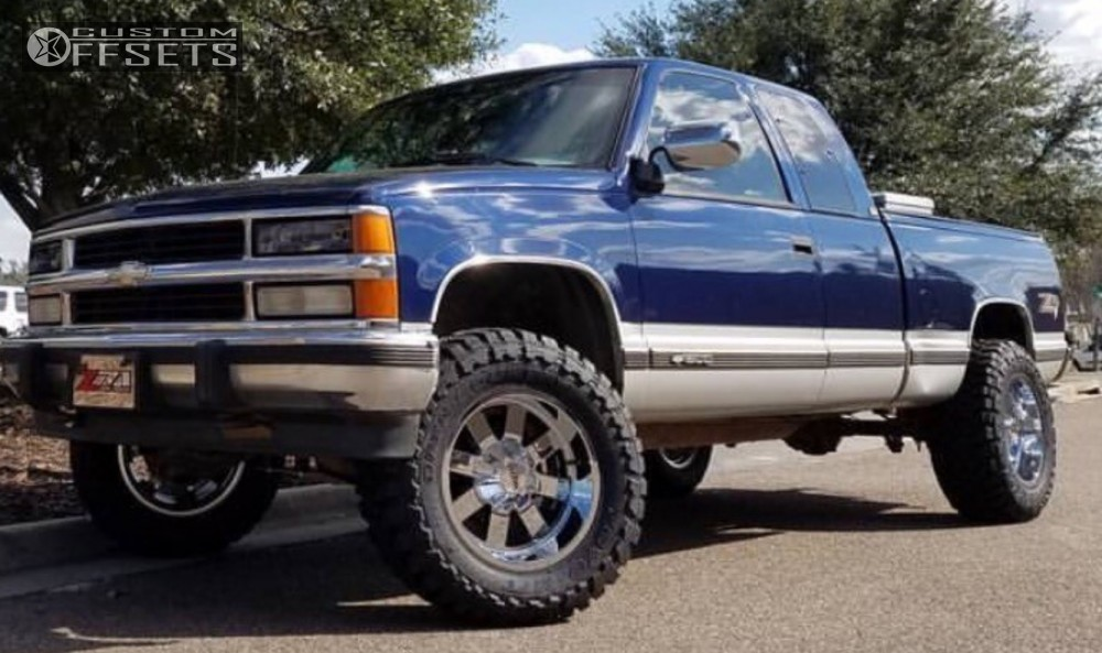 6 Inch Lift Kit For Chevy 1500 4wd >> 1994 Chevrolet K1500 Moto Metal 962 Rough Country ...