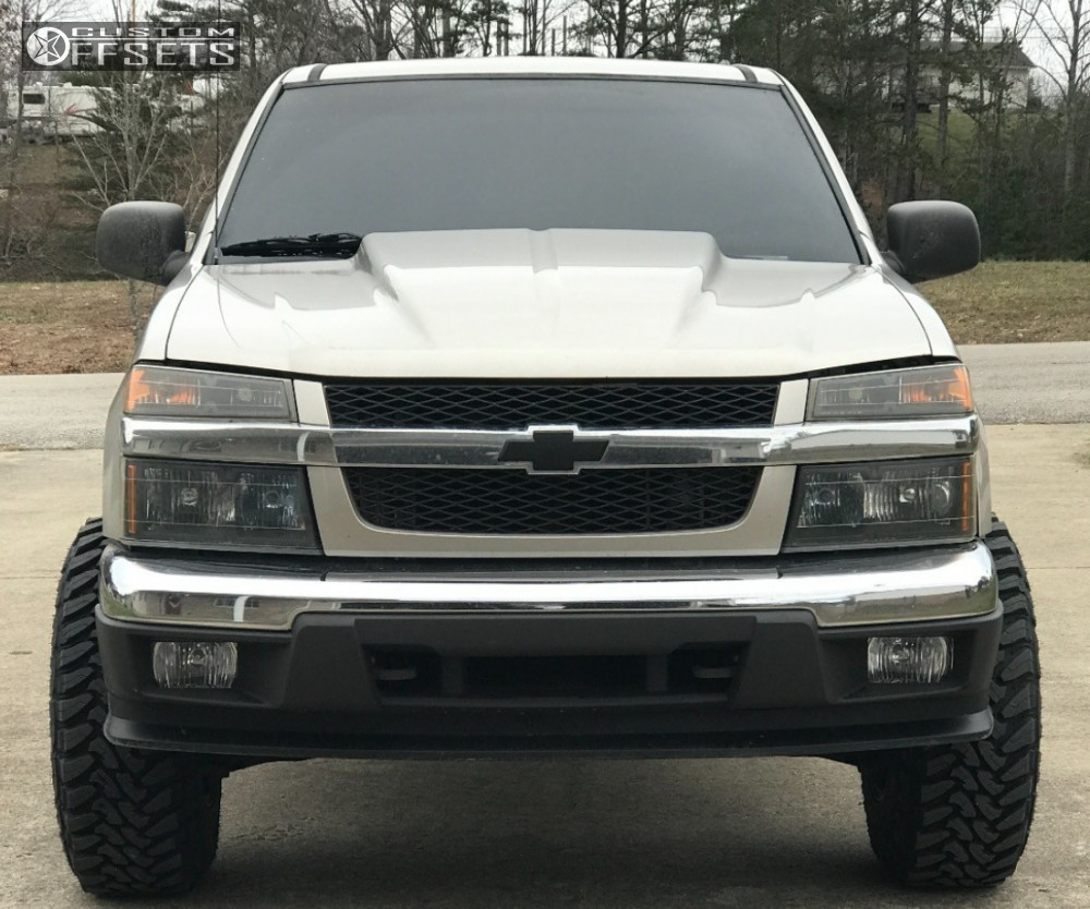 Colorado 2006 chevrolet colorado : 2006 Chevrolet Colorado Fuel Lethal Rough Country Leveling Kit ...