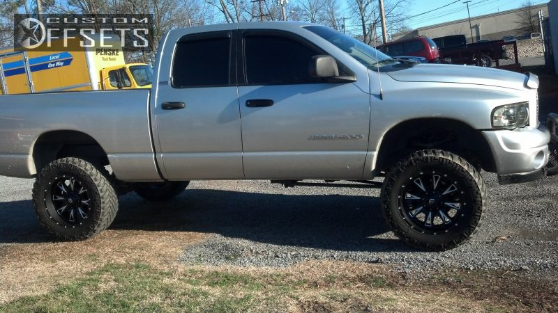 1 2002 Ram Pickup 1500 Dodge Suspension Lift 6 Fuel Throttle Machined Accents Aggressive 1 Outside Fender