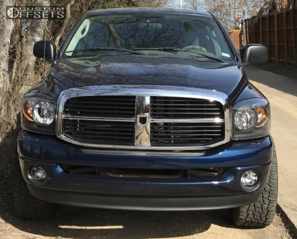 2 2006 Ram 1500 Dodge Leveling Kit Moto Metal Mo970 Black Slightly Aggressive