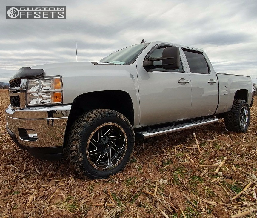 2011 Chevrolet Silverado 3500 Hd Fuel Renegade D264 Stock