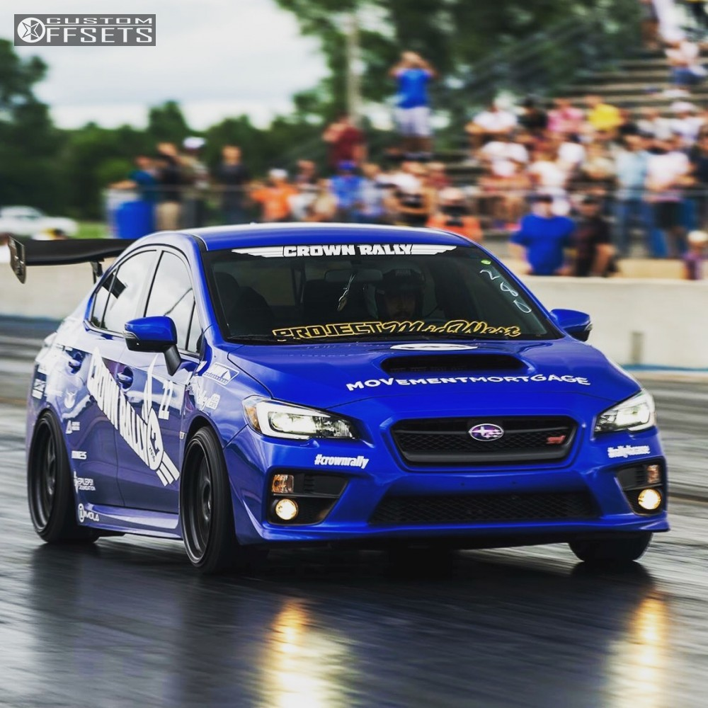 2015 subaru wrx sti aodhn ds01 air lift performance bagged. Black Bedroom Furniture Sets. Home Design Ideas