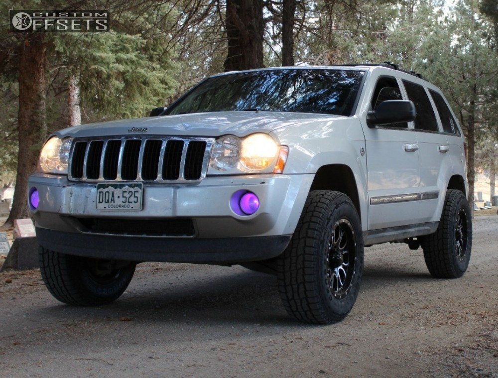 Linglong Crosswind Tires >> 2005 Jeep Grand Cherokee Helo He879 Rough Country Leveling Kit