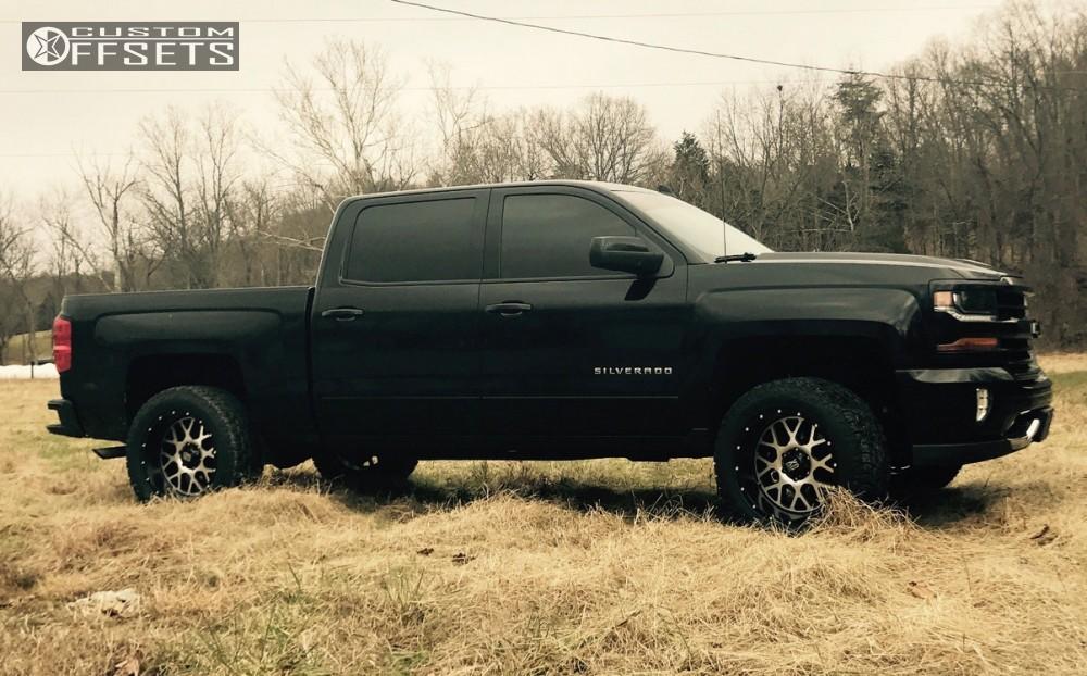 2016 Chevrolet Silverado 1500 Xd Xd820 Rough Country ...