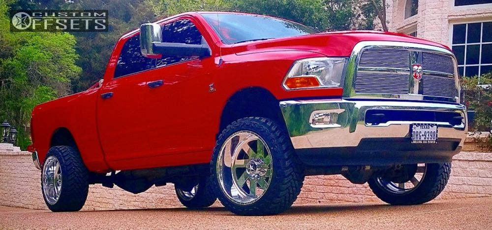 1 2012 Attitude Dodge Leveling Kit American Force Fuse Ss Polished Super Aggressive 3 5