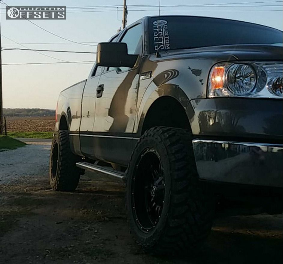 Leveling Kit For Ford F150: 2006 Ford F 150 Fuel Hostage Rough Country Leveling Kit