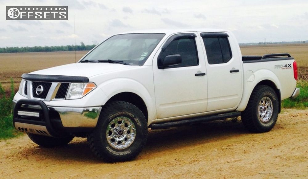 Wheel Offset 2008 Nissan Frontier Slightly Aggressive