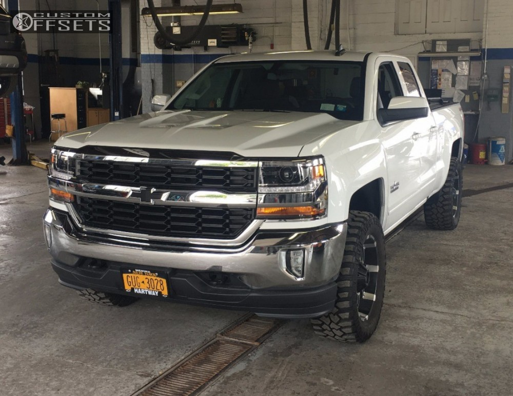 2016 chevrolet silverado 1500 red dirt road thunder rough country leveling kit. Black Bedroom Furniture Sets. Home Design Ideas