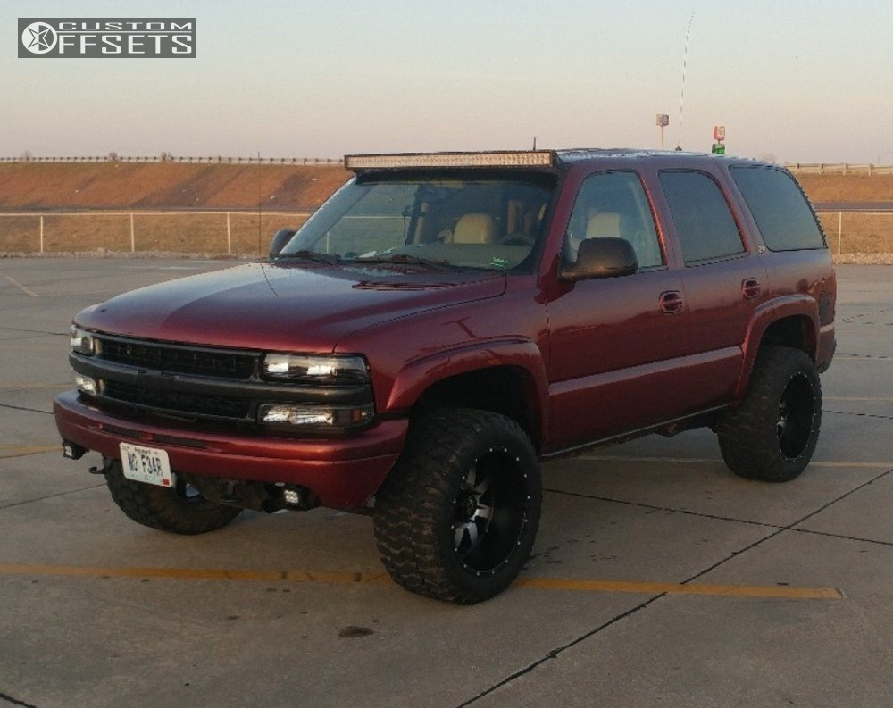 Tahoe 2003 chevrolet tahoe : 2003 Chevrolet Tahoe American Eagle 512 Rough Country Leveling Kit
