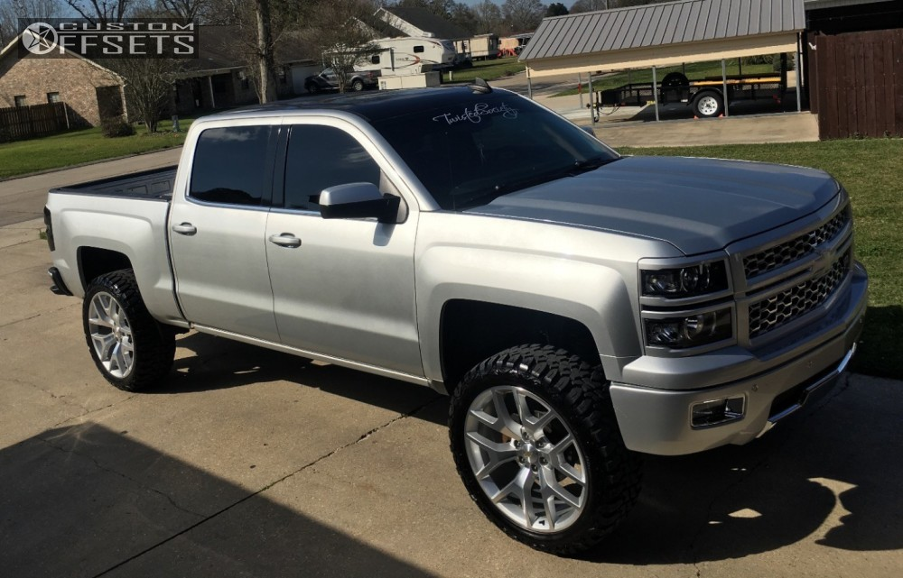 2015 chevrolet silverado 1500 oe performance 169 supreme suspension suspension lift 6in. Black Bedroom Furniture Sets. Home Design Ideas