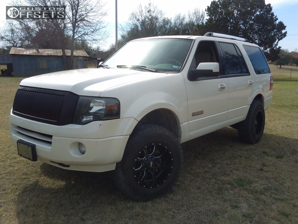 2007 Ford Expedition Moto Metal Mo970 Readylift Suspension Lift 3in