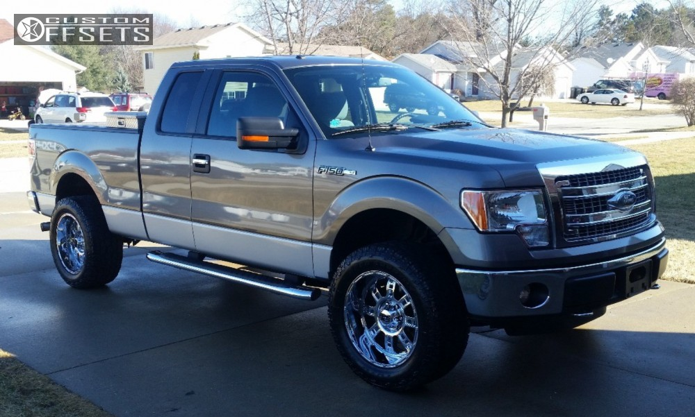 2013 Ford F 150 Xd Xd809 Rough Country Leveling Kit