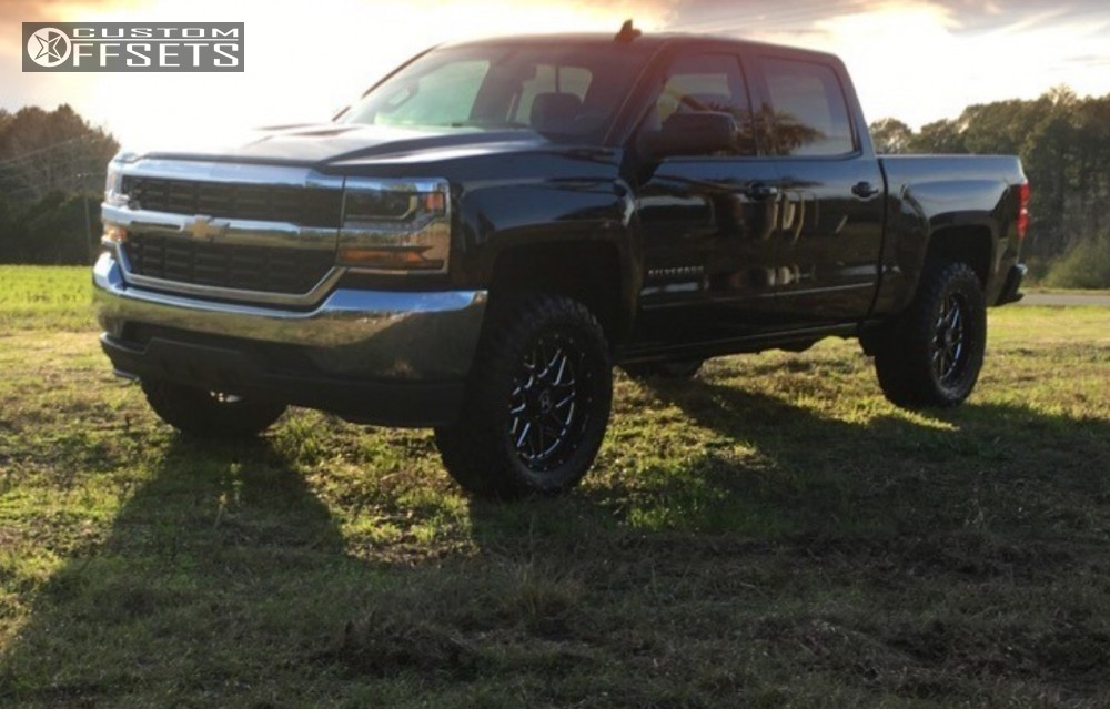 1 2016 Silverado 1500 Chevrolet Stock Hostile Sprocket Polished Aggressive 1 Outside Fender