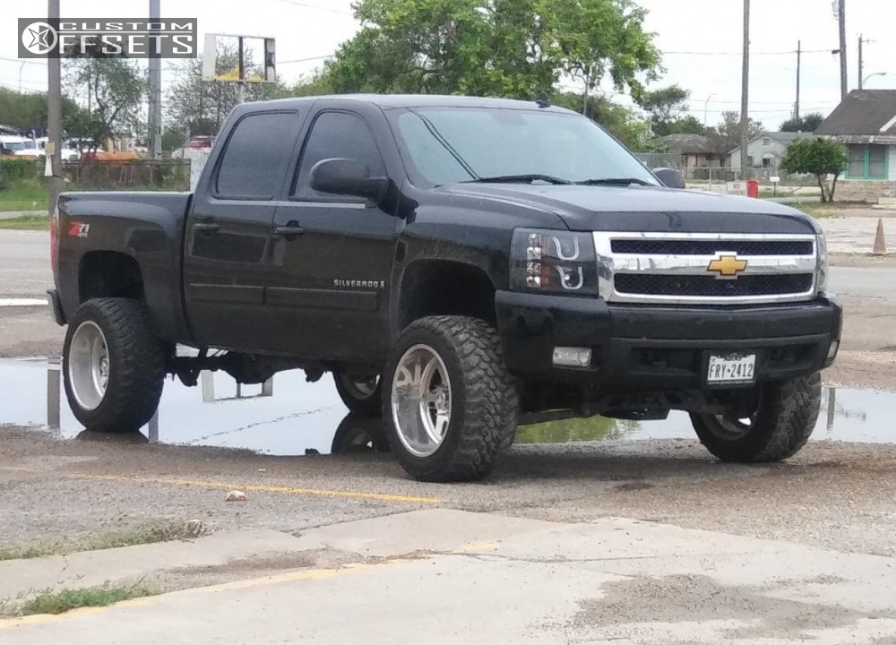 1 2008 Silverado 1500 Chevrolet Suspension Lift 5 American Force Jade Ss Polished Super Aggressive 3