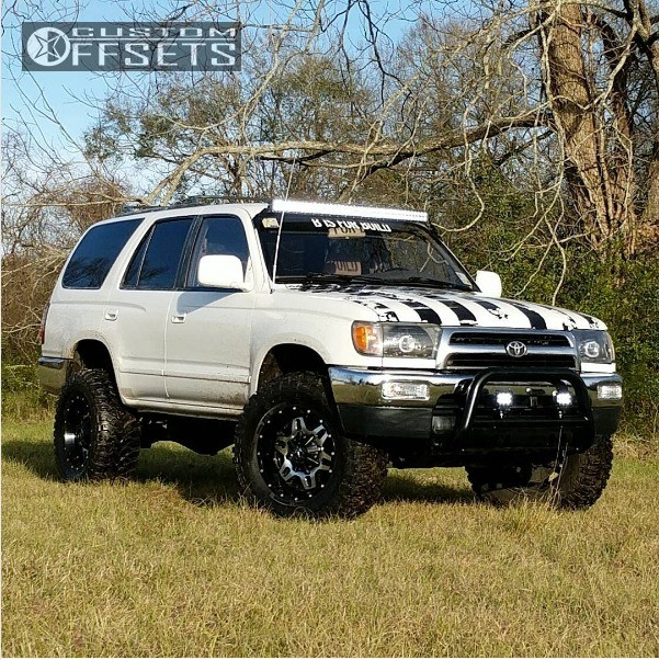 1997 toyota 4runner tis 538mb rough country suspension. Black Bedroom Furniture Sets. Home Design Ideas