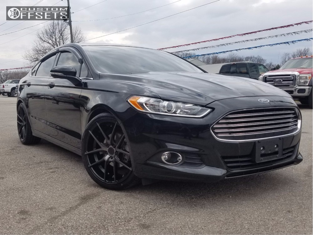 2014 Ford Fusion Niche Targa Steeda Lowered On Springs