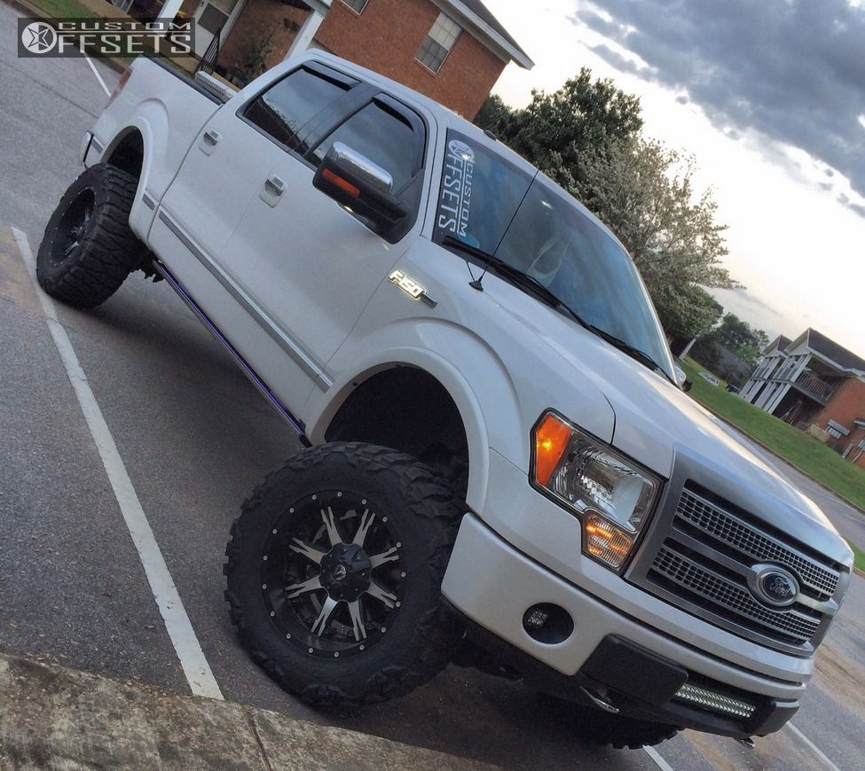 2010 Ford F 150 Fuel Nutz Rough Country Suspension Lift 6in