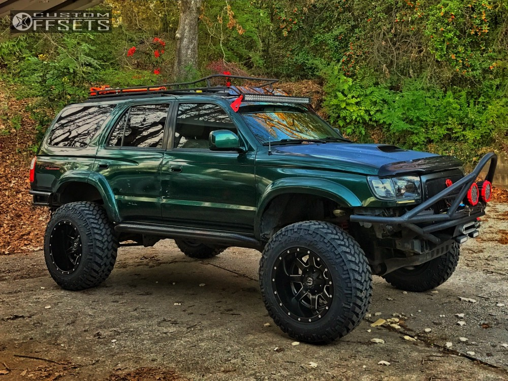 2000 Toyota 4runner Fuel Maverick Toytec Lifts Suspension Lift 35in furthermore Jeep Wrangler Tj By Rubikong Offroad Parts Greece likewise 203520 Chevy S10 With A 2jz also 2011 Toyota Tundra Trd Warrior 12 Inch Bulletproof Lift besides Camburg And Toyota Built 2017 Ta a Trd Pro. on coilovers toyota truck