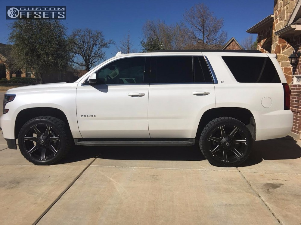 2016 chevrolet tahoe dropstars 647bm rough country leveling kit. Black Bedroom Furniture Sets. Home Design Ideas
