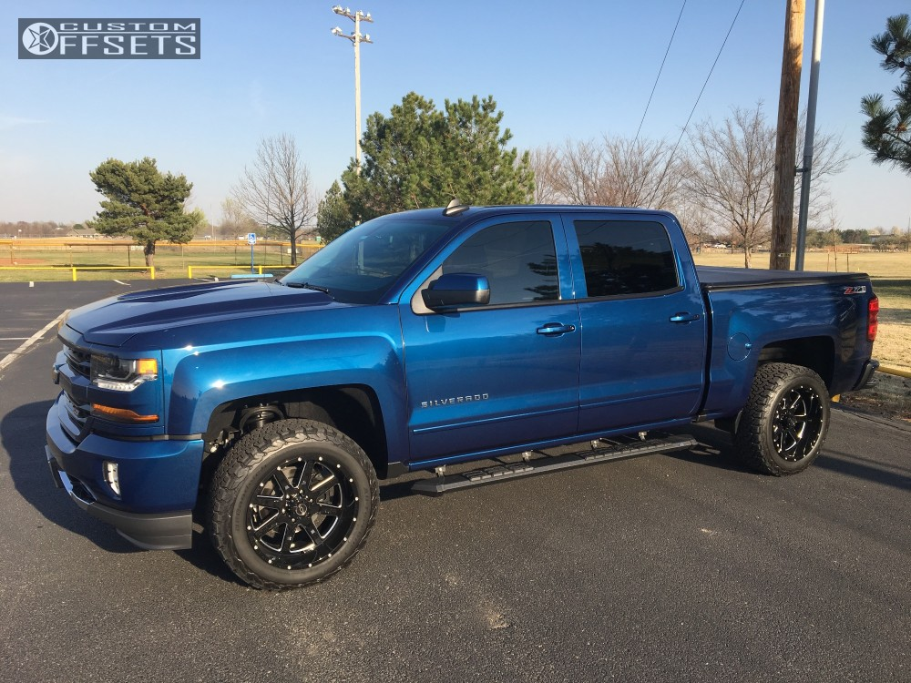 2017 chevrolet silverado 1500 tuff t15 rough country leveling kit. Black Bedroom Furniture Sets. Home Design Ideas