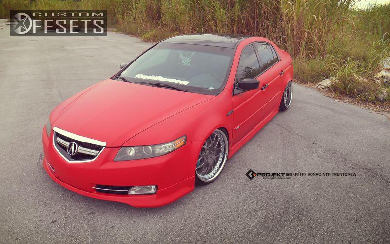 Wheel Offset Acura Tl Flush Bagged Custom Rims - 2004 acura tl custom