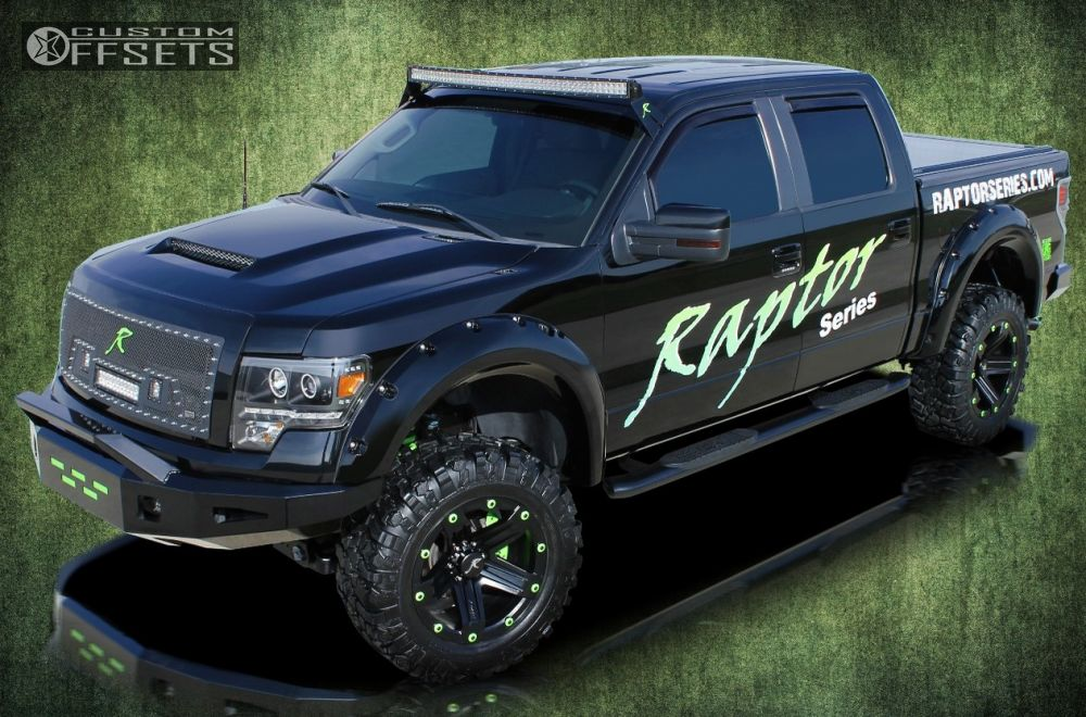 1 2009 F 150 Ford Suspension Lift 6 Raptor Series 311indecent Exposure Black Aggressive Outside