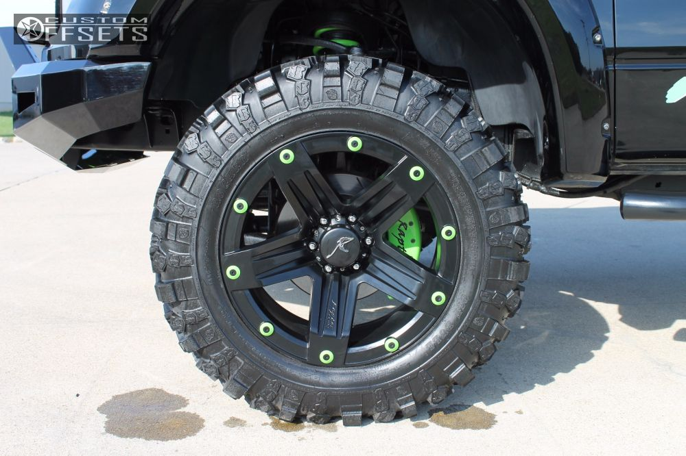 8 2009 F 150 Ford Suspension Lift 6 Raptor Series 311 Black Aggressive 1 Outside Fender