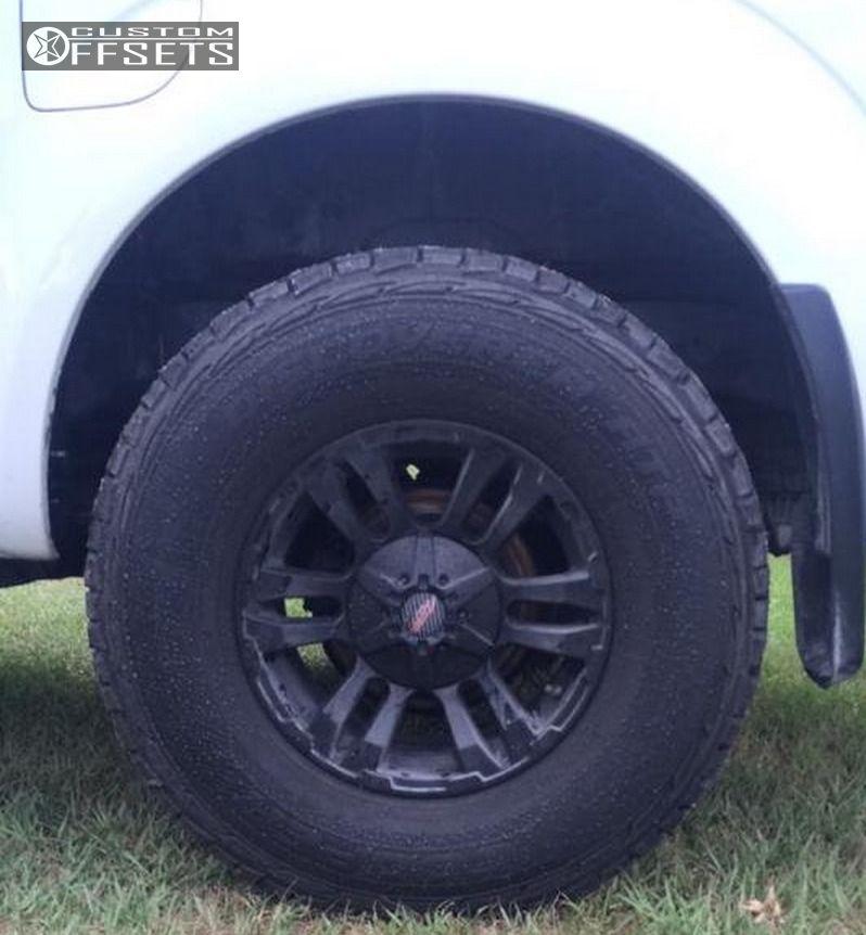 Buy Tires Online >> 2006 Nissan Frontier Mb Motoring Tko Leveling Kit