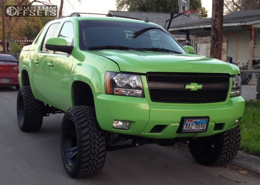 2008 Chevrolet Avalanche Xd Crank Rough Country Suspension ...