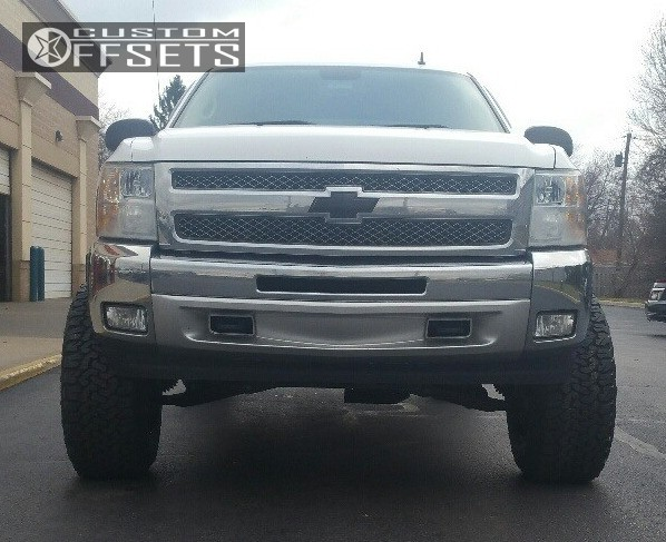 2 2012 Silverado 1500 Chevrolet Suspension Lift 75 Moto Metal Mo962 Black Hella Stance 5