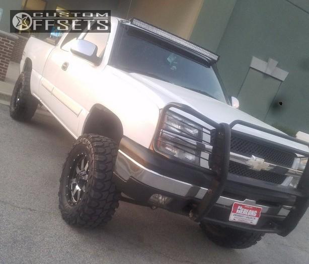 Custom Wheel Offset >> 2003 Chevrolet Silverado 1500 Gear Alloy Big Block Rough ...