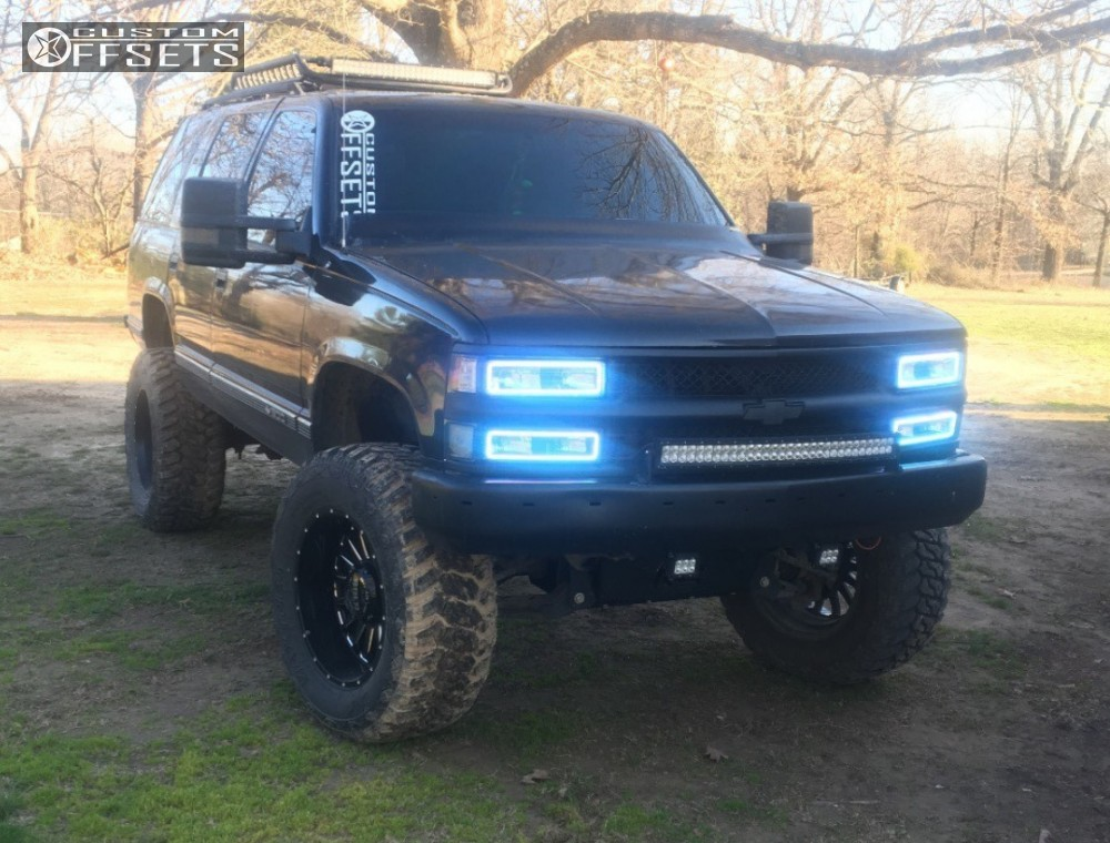 1997 Chevrolet Tahoe Bold Bd002 Rough Country Suspension