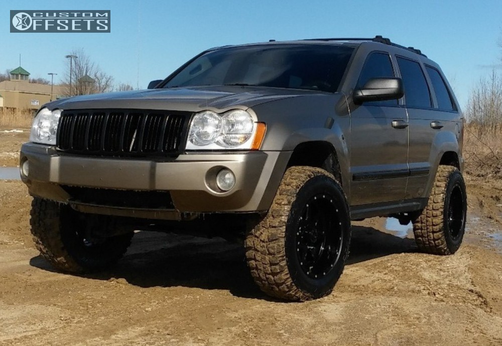 Lifted Jeep Cherokee For Sale >> 2005 Jeep Grand Cherokee Tuff T15 Top Gun Customz Body Lift 3in