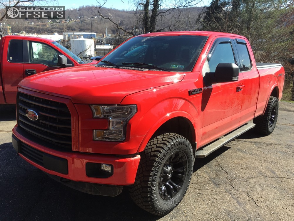 2015 Ford F 150 Fuel Vapor Rough Country Leveling Kit
