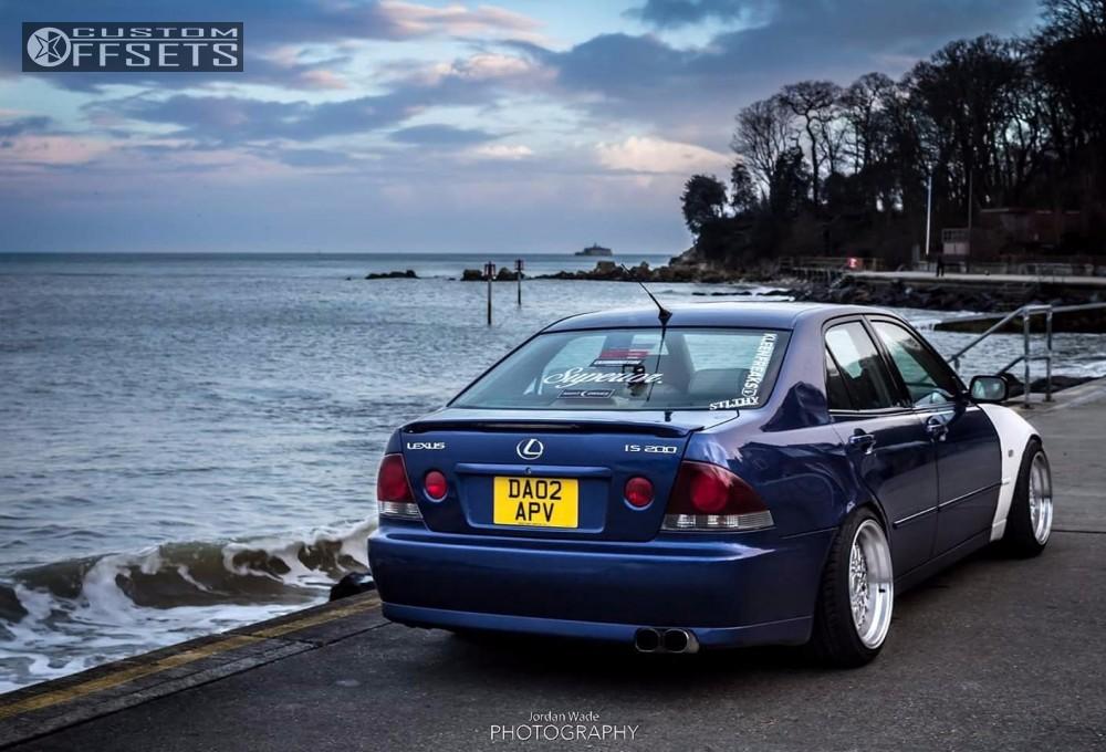 2002 Lexus Is300 Bbs Super Rs Trd Lowering Springs